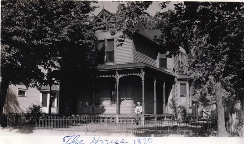 John Rachac's Home in 1920