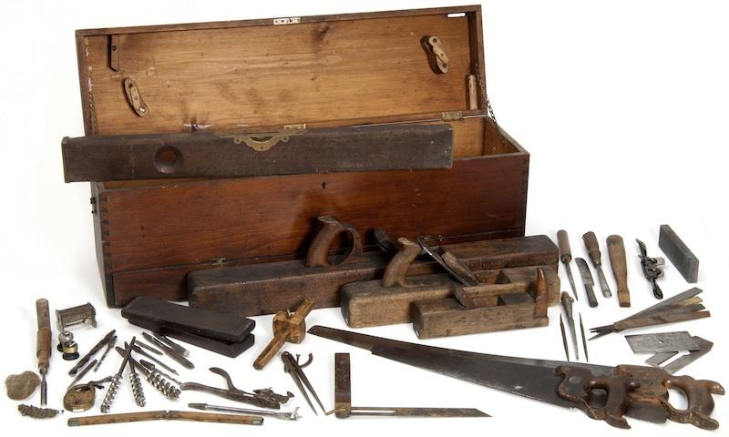 Carpenter's Tools used in the building of the Capitol