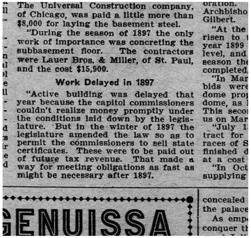 St. Paul Globe 18Sep1904_Lauer Brothers & Miller