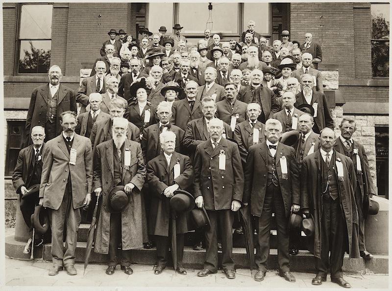 Group of Minnesota Veterans of the American Civil War