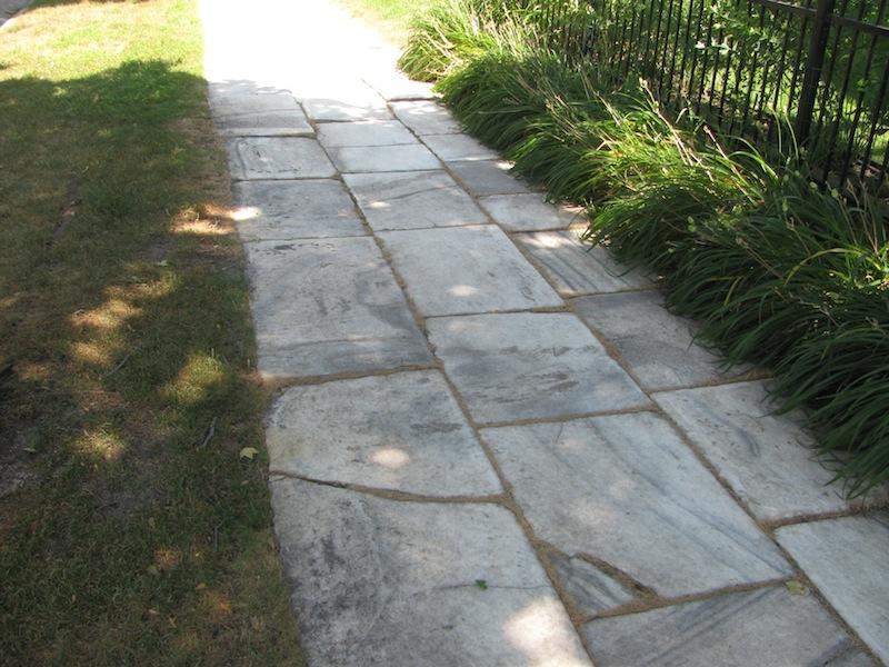 Marble Walkway on Hague Avenue, Saint Paul