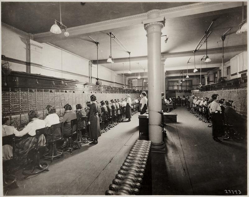 Telephone Switchboard Operators, Minneapolis