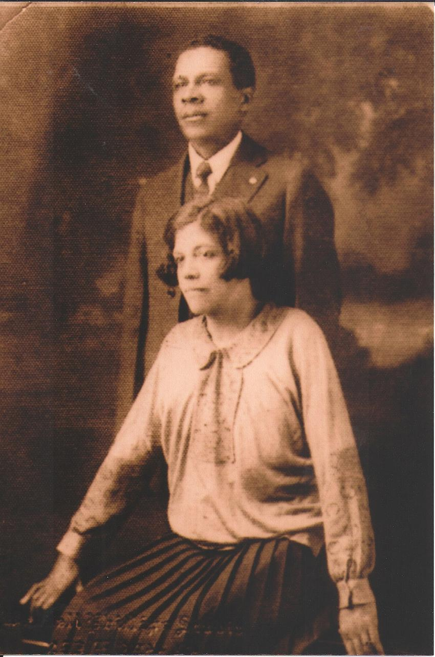 Ernest Jones and his sister