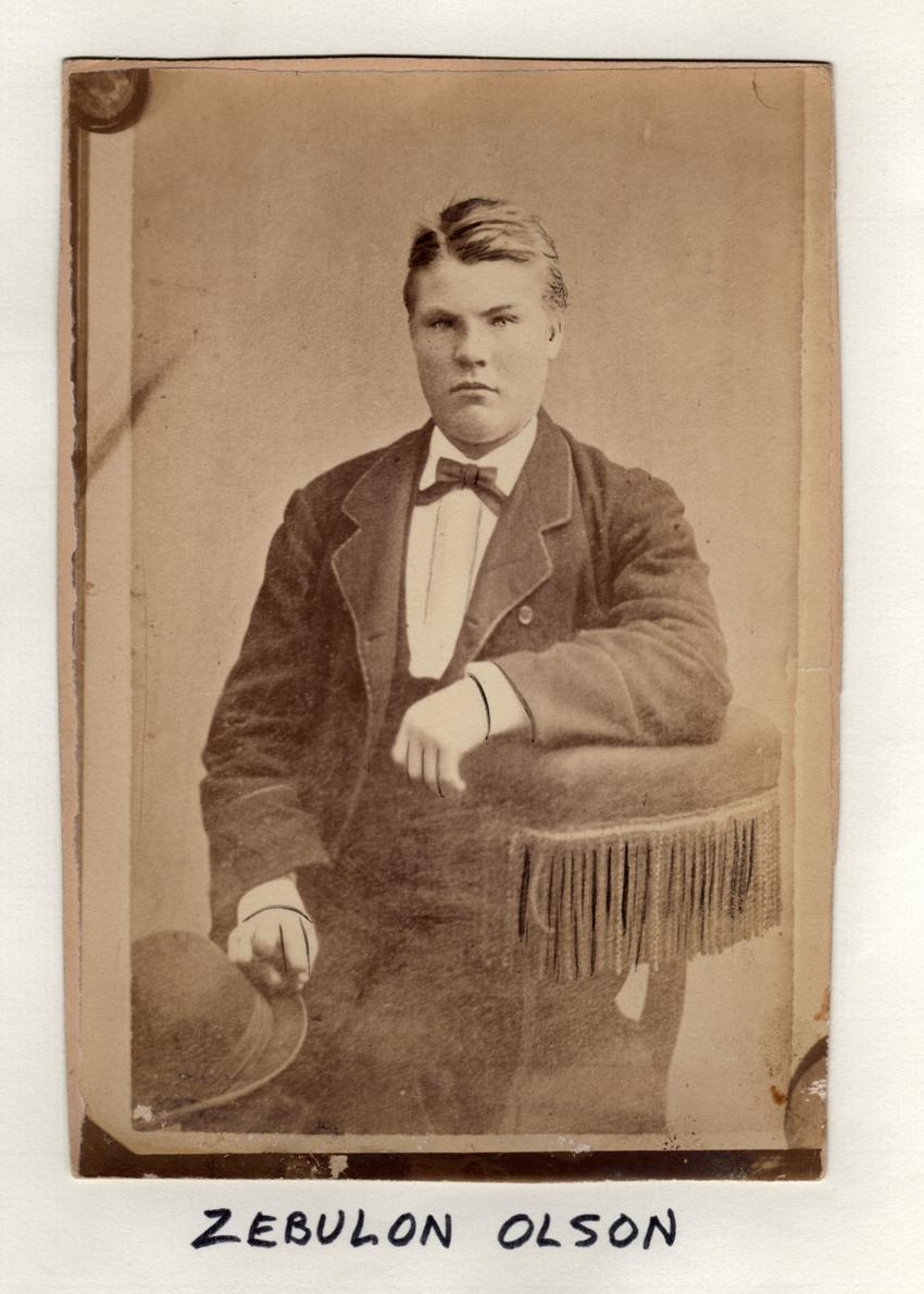 Sebulon Olson, Crane Operator, n.d.