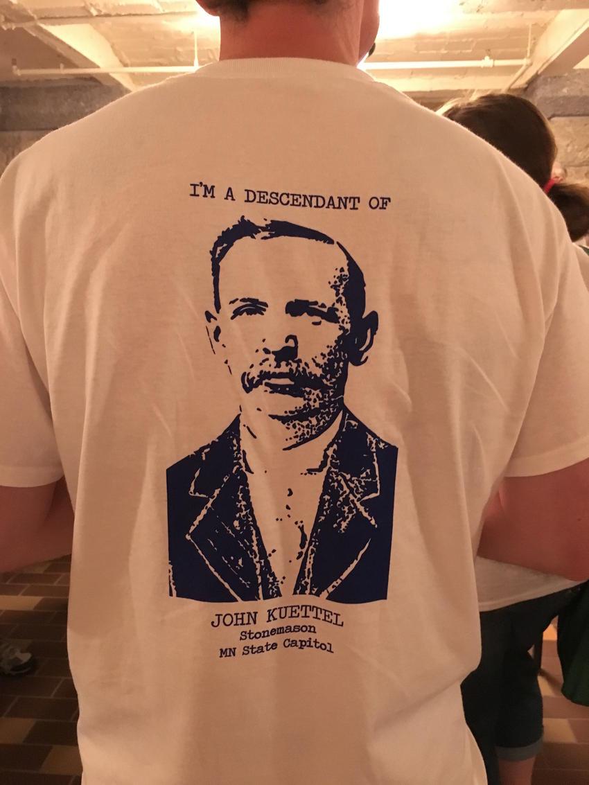 Kuettel descendants'  T-shirt