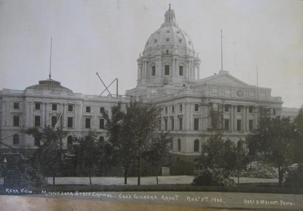 Minnesota Capitol, 8-2-1902
