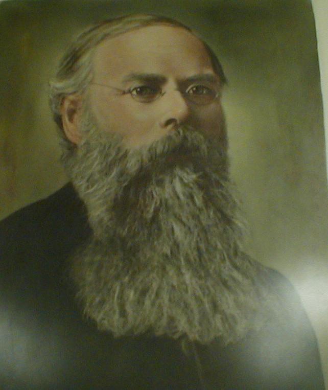 Pastor P. J. Sward, First Swedish Evangelical Lutheran Church