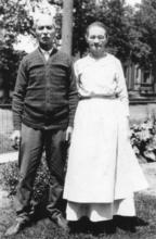 Henry and Tilda Ostedt in their later years