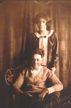 Ernest Jones as a young man with sister