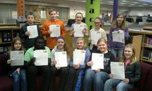 Owatonna 6th graders, State Captiol letter writing campaign
