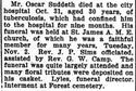 Oscar Suddeth Obituary
